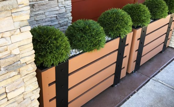 Outback, Steakhouse - Remodel Location - Planters